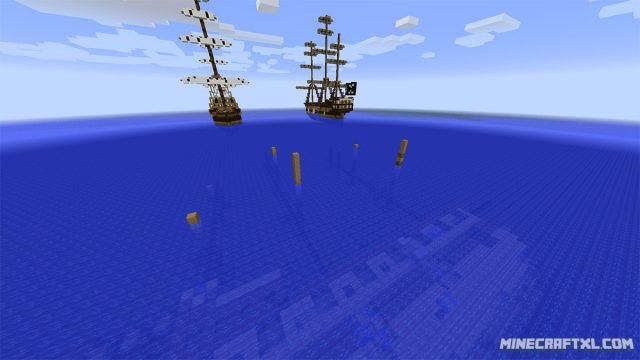 SUPER Pirate Battle Royale Minecraft PVP Map
