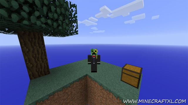 SkyBlock Survival Map for Minecraft
