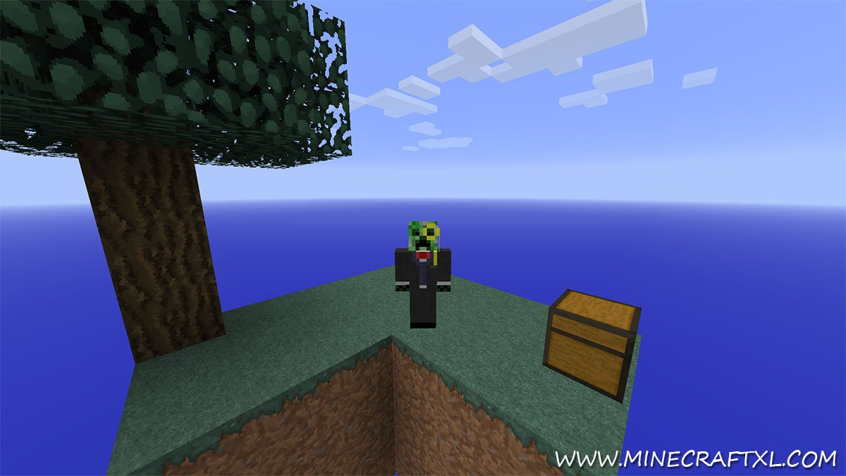 SkyBlock Survival Map Download for Minecraft 1 7/1 6 - MinecraftXL