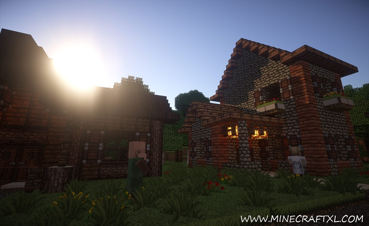 Minecraft Shaders Texture Pack Download 1 6 4 - snowseven