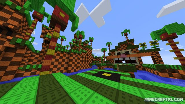 Sonic the Hedgehog Minecraft Map
