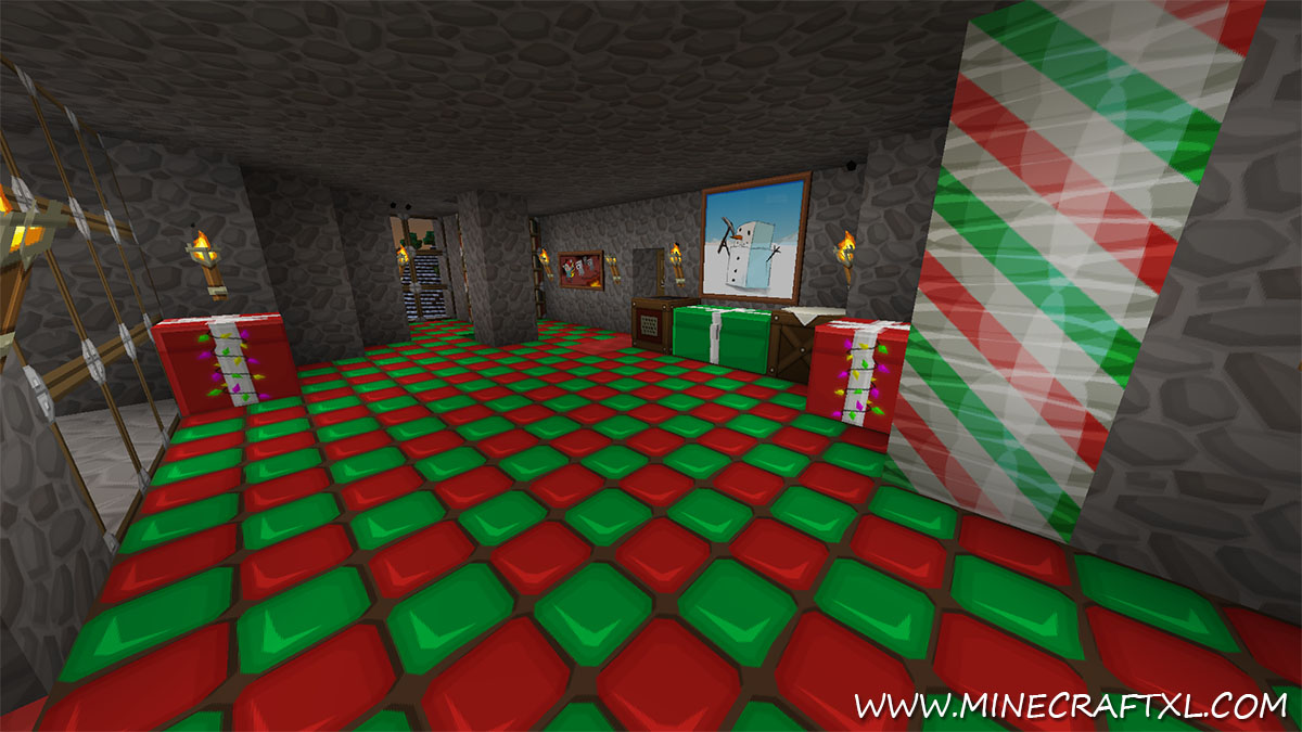 Christmas Minecraft World.Sphax Xmasbdcraft Resource Texture Pack For Minecraft 1 7 4