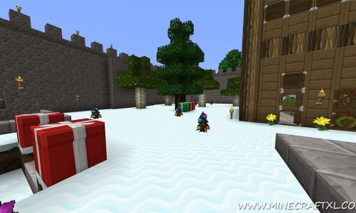 Futureazoo's Defaulted Christmas Resource Pack for Minecraft 1.7.4/1.6.4