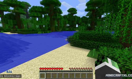 Squeedometer Mod for Minecraft 1.6.4