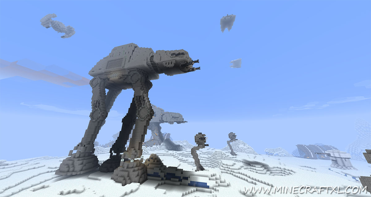 Minecraft World Map - Tagged star wars