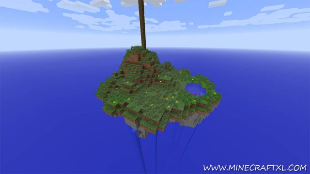 Stratosphere Survival Map for Minecraft