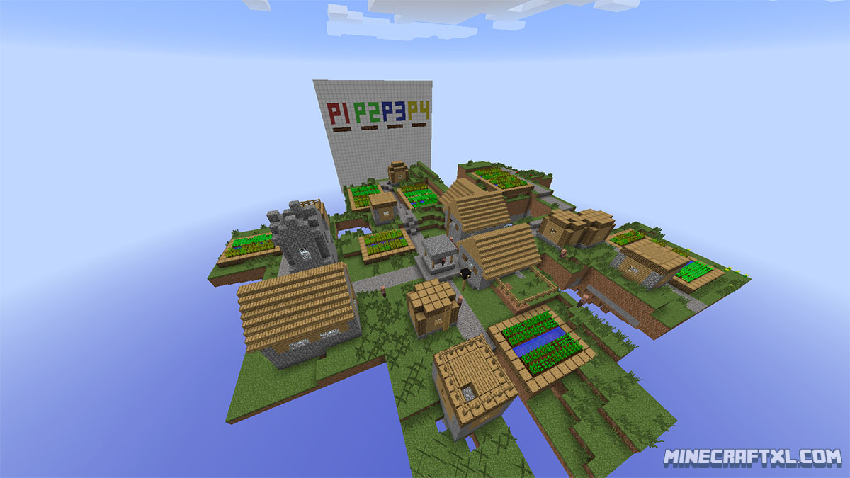 Super Craft Bros: Brawl Map Download for Minecraft 1 7