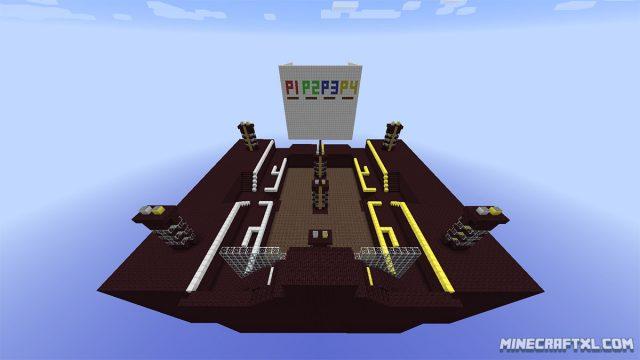 Super Craft Bros Brawl Map for Minecraft