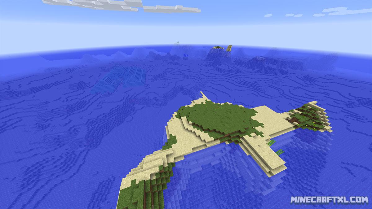 minecraft 1.8 7 survival island seed