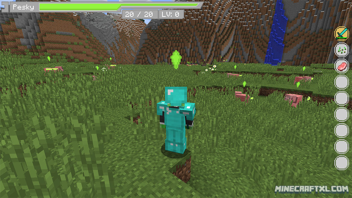 Sword Art Online UI Mod Download   Minecraft 1.8