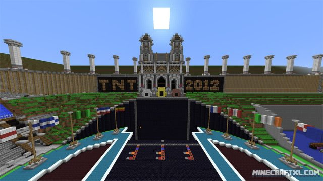 TNT Olympics Map