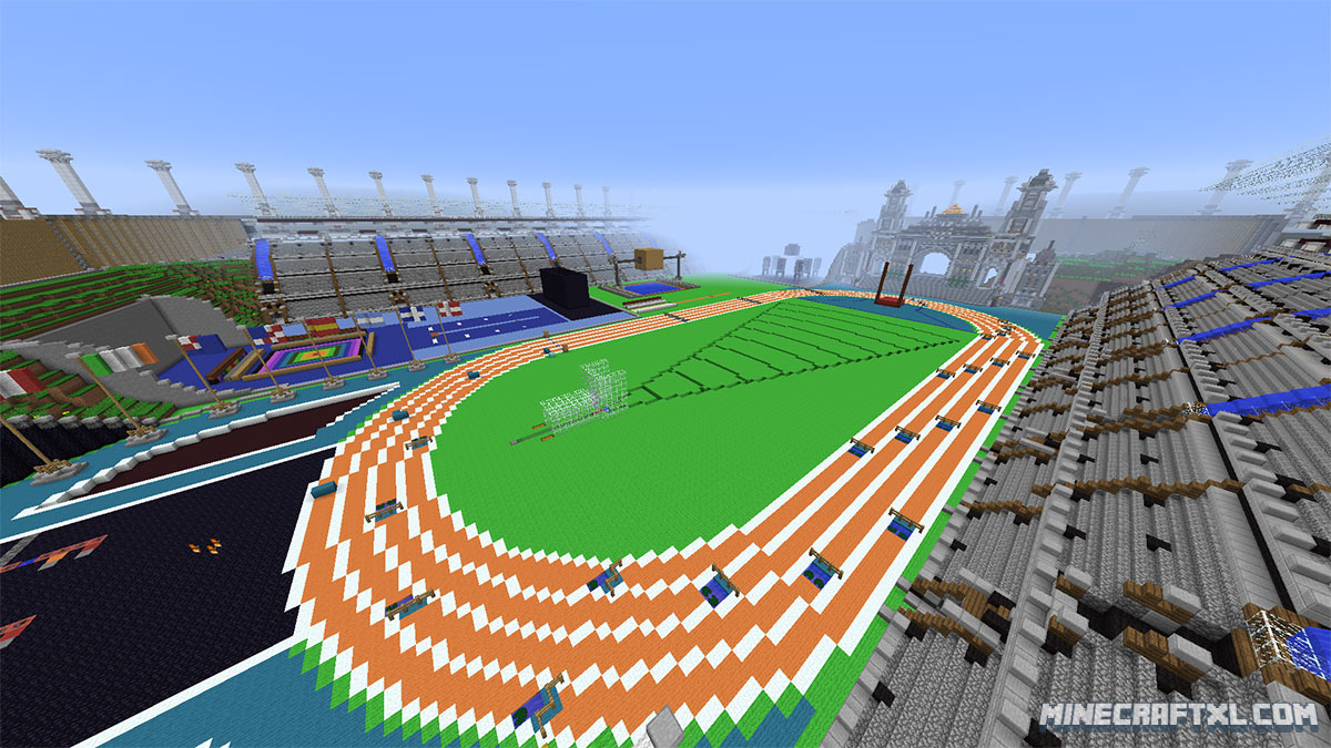 TNT Olympics Map Download For Minecraft - Minecraft tnt spiele