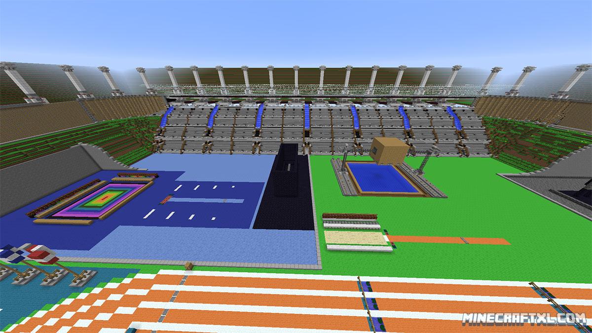 Tnt olympics map 9minecraft. Net.