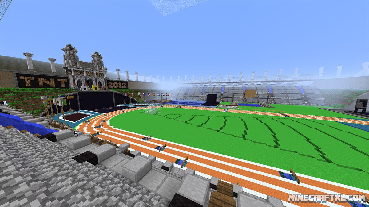 Minecraft custom map: tnt olympics part 2 youtube.