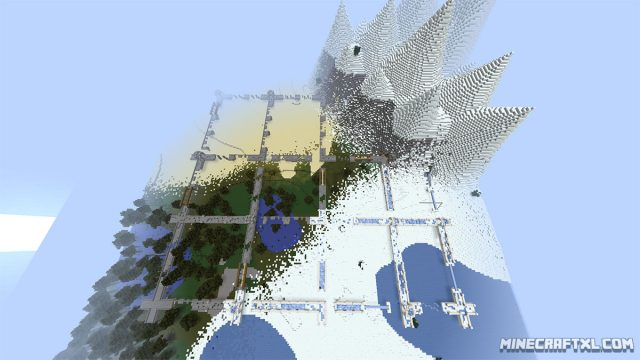 Temple Run Map for Minecraft