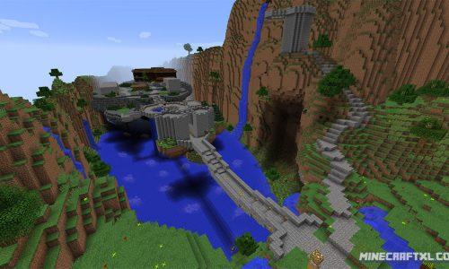 Terra Restore CTM Map for Minecraft 1.8