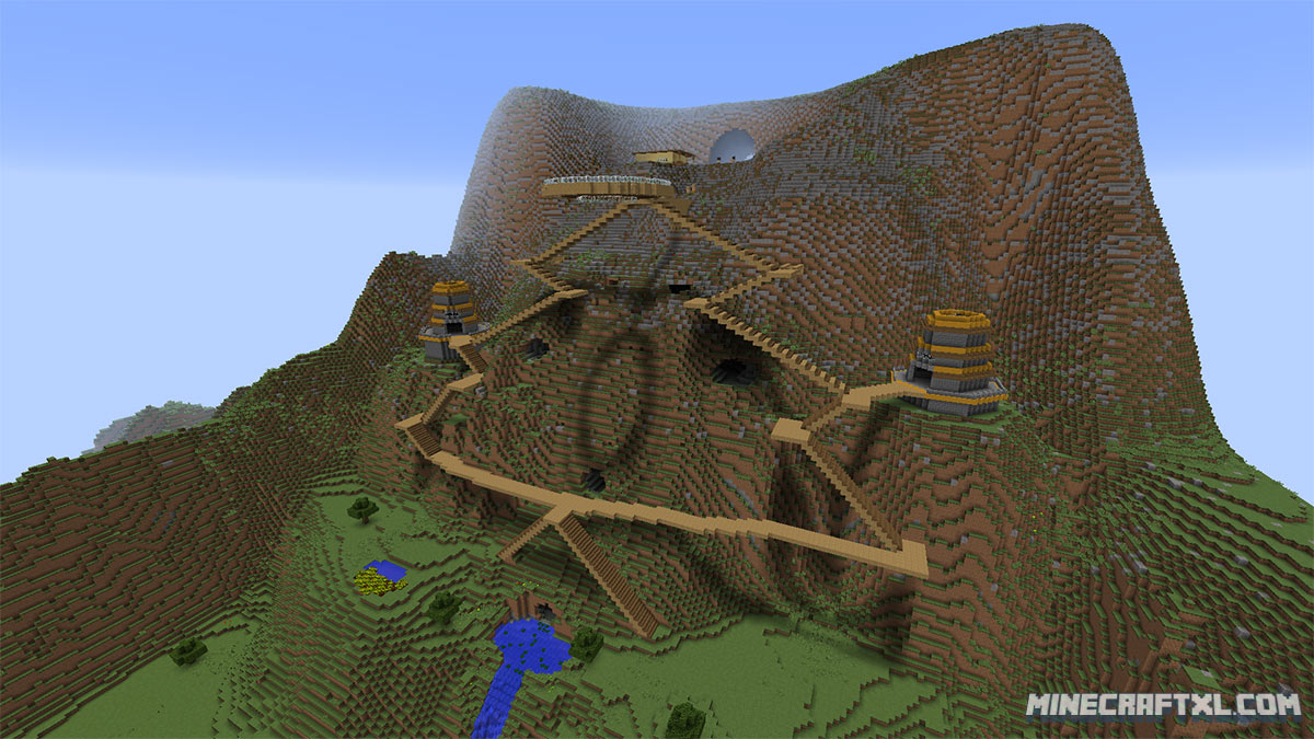 Terra Restore CTM Map Download for Minecraft 1.8