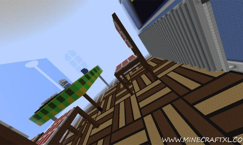 The Dropper Adventure and Puzzle Map for Minecraft 1.8/1.7/1.6