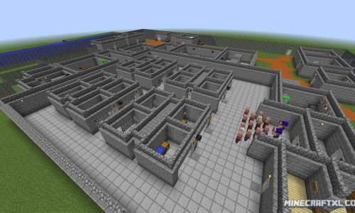 The Escapists Map for Minecraft 1.8
