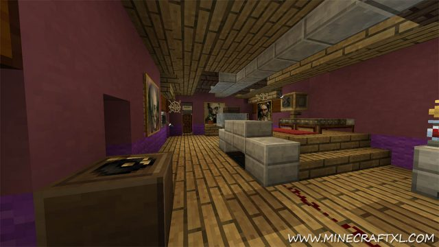 The Lbrour Mansion Adventure Map