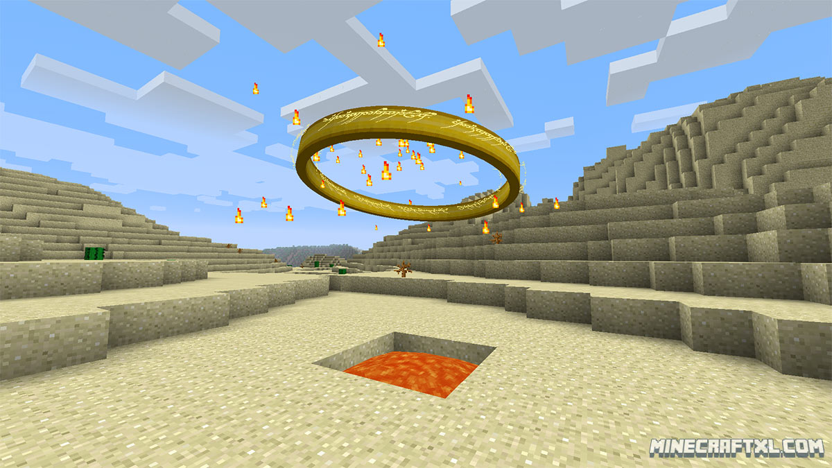 Minecraft Mods    Lord Of The Rings