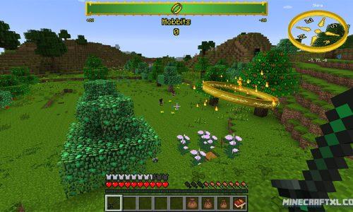 The Lord of the Rings Mod for Minecraft 1.7.10