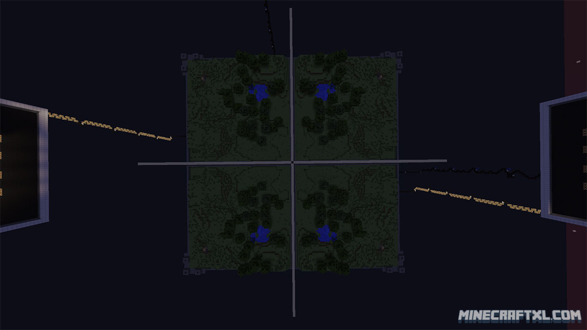 The Walls PvP Survival Map Download for Minecraft 1.7/1.6