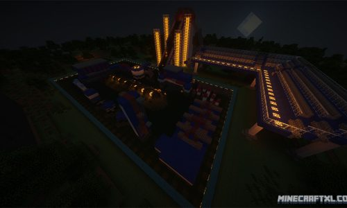 The Wipeout Zone Map for Minecraft 1.7/1.6