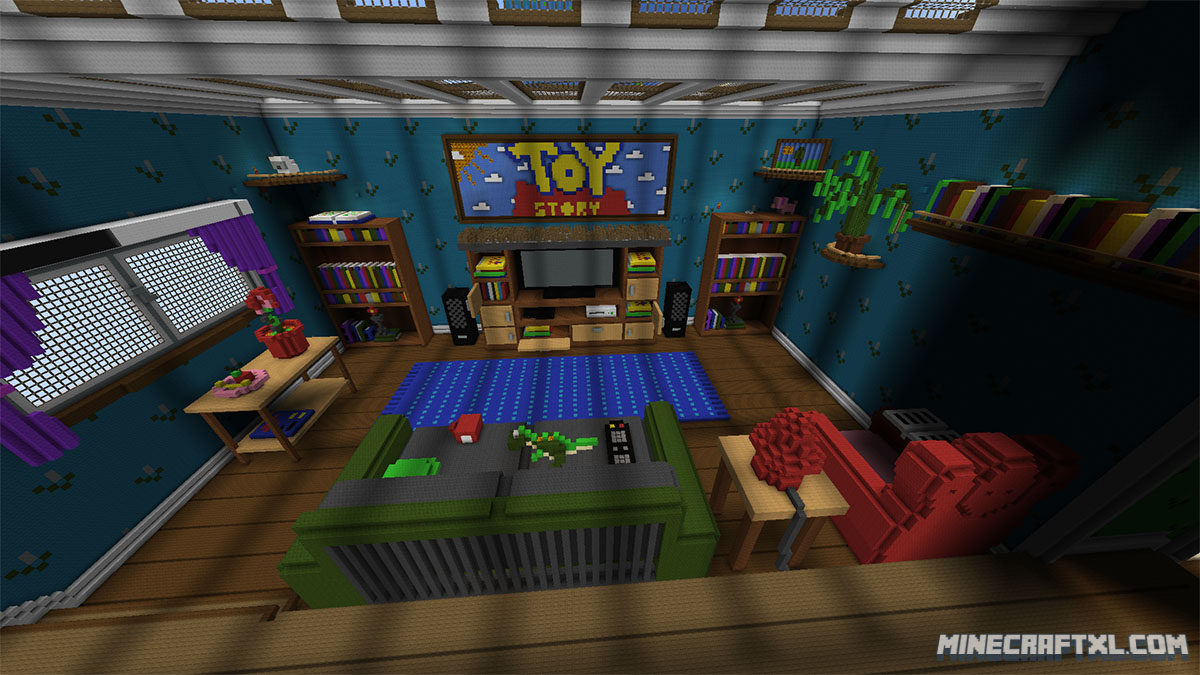 Toy Story 2 Adventure Map The Living Room