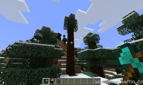 Treecapitator Mod for Minecraft 1.8/1.7