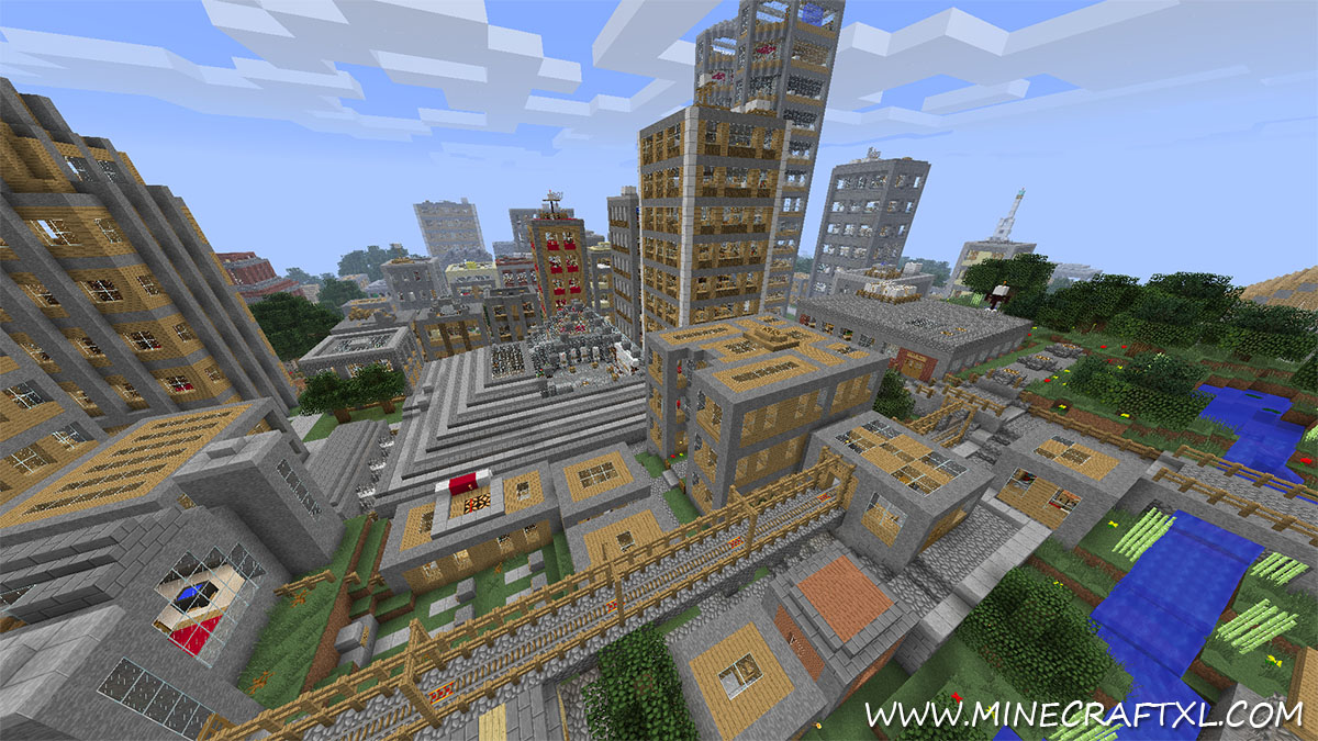 However  in newer versions of Vertoak City  V12 specifically   you    Minecraft City Map