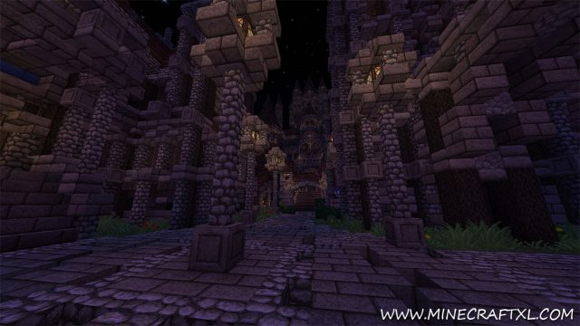 Wrath of the Fallen Adventure Map