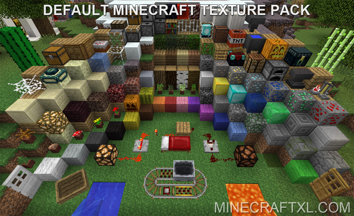 Default Minecraft Texture Pack