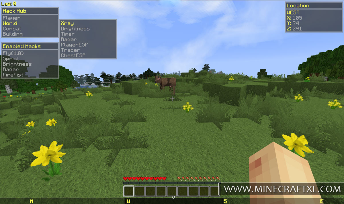Download Mash Hacked Minecraft 1.6.2 Client - MinecraftXL