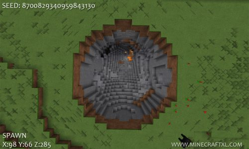 Massive Crater Seed