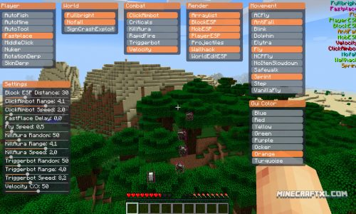 Matix Minecraft Hack for 1.9