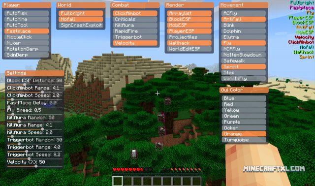 Matix Minecraft Hack for 1.9