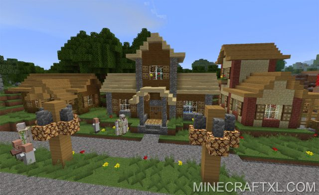 Minecraft Enhanced Texture Pack