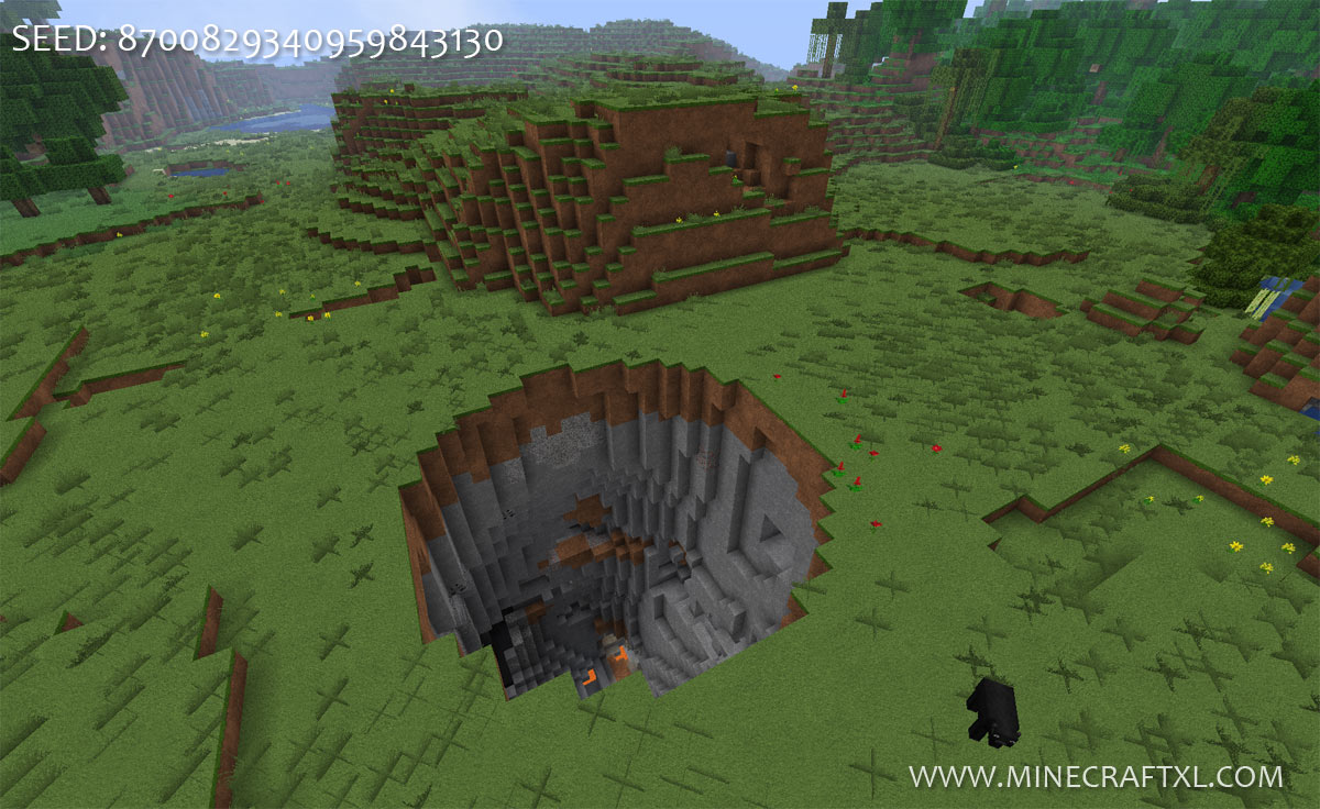 18 Images Minecraft Pe Giant Tree House Seed