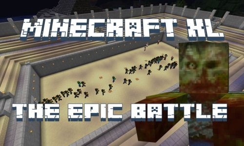 Minecraft The Epic Batlle