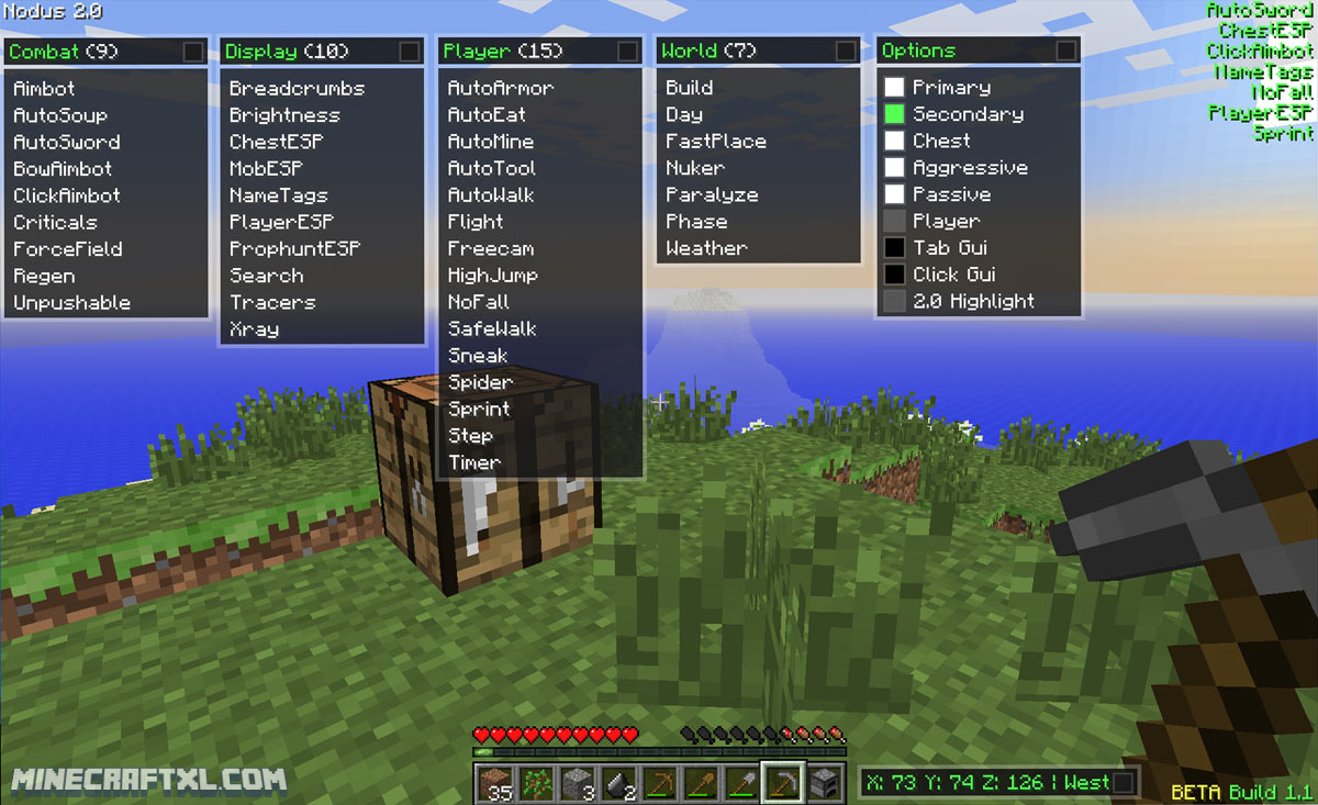 Minecraft Pc Mod For Crafting Like Console