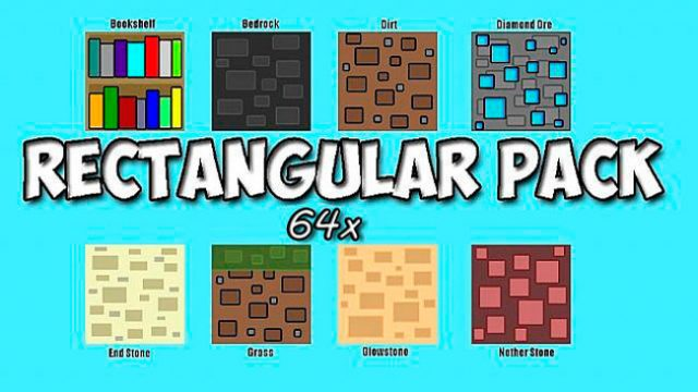 Rectangular Resource & Texture Pack