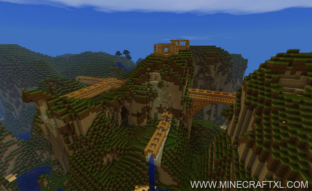 Minecraft underground city download