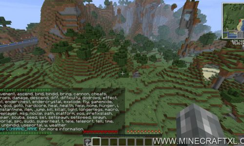 Single Player Commands (SPC) for Minecraft