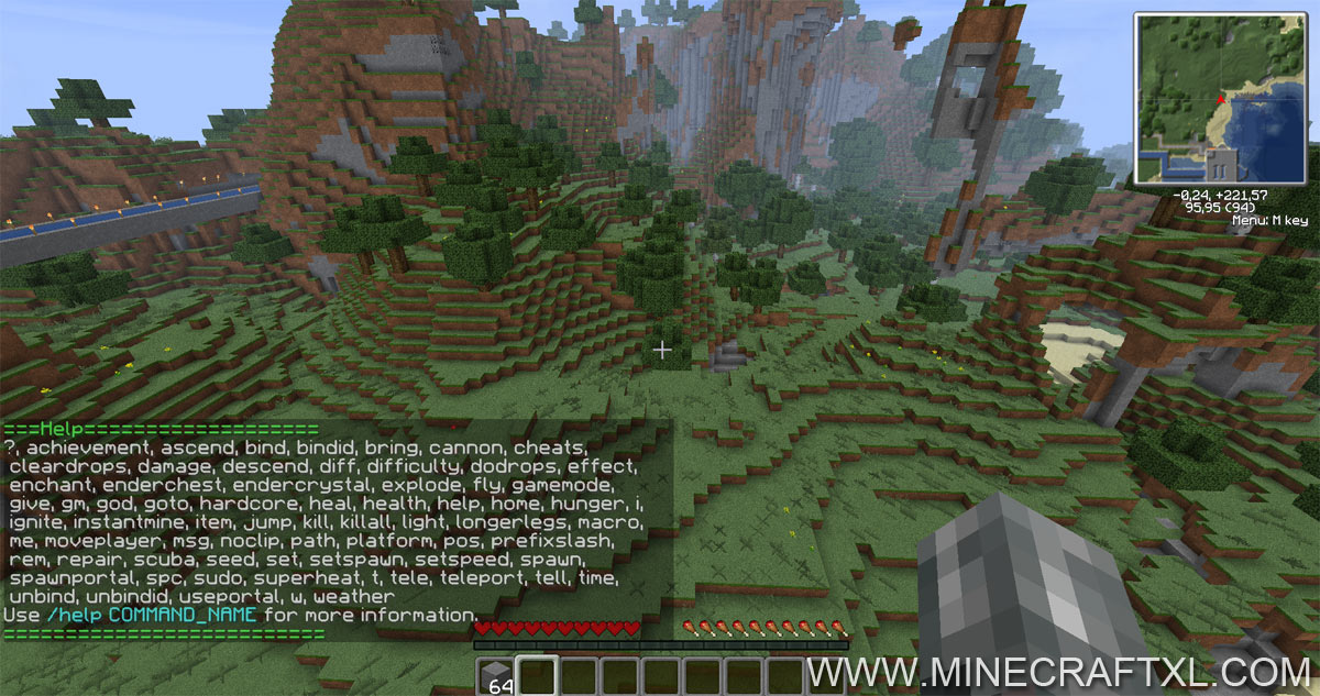 Single Player Commands SPC Mod Download For Minecraft - Minecraft teleport player to
