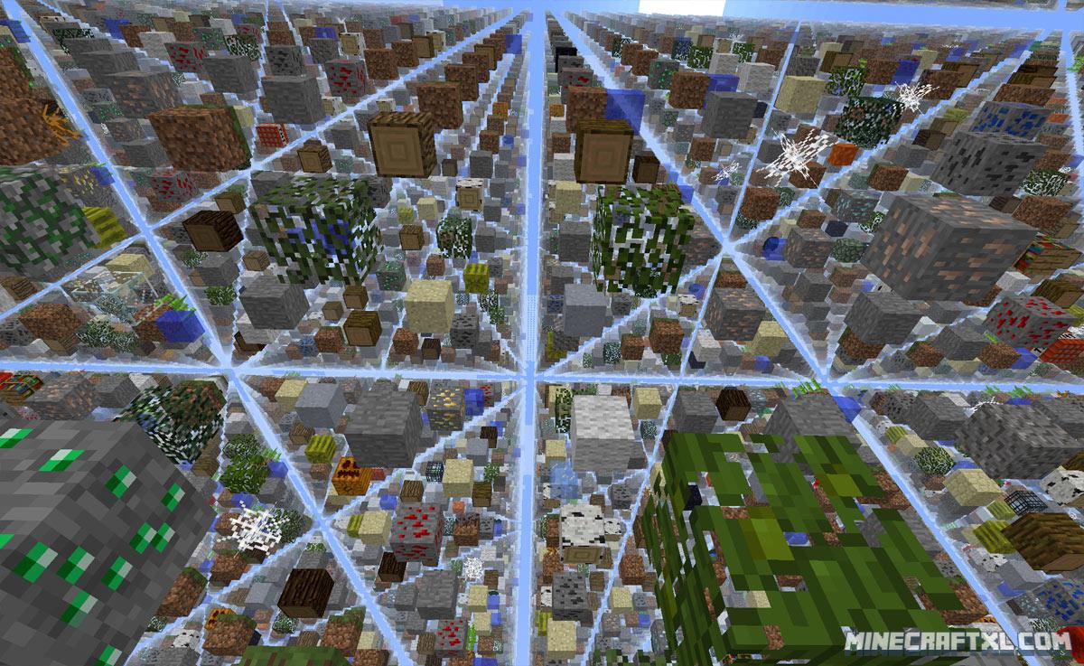 Скачать Карту Skygrid для Майнкрафт 1.6.4